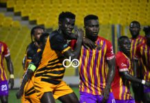 Hearts of Oak v Ashgold