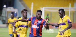 Asamoah Gyan against Medeama SC