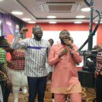 Multimedia Choir's live worship