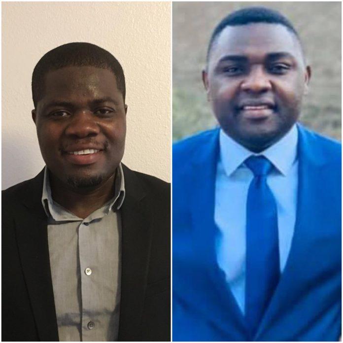 Kevin Taylor and Dr Solomon Owusu