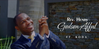Rev Henry Godson-Afful drops visuals for 'All Power' featuring Koda
