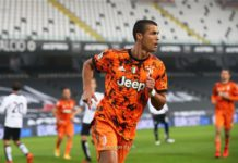 Cristiano Ronaldo has scored five times in four league games for Juventus this season