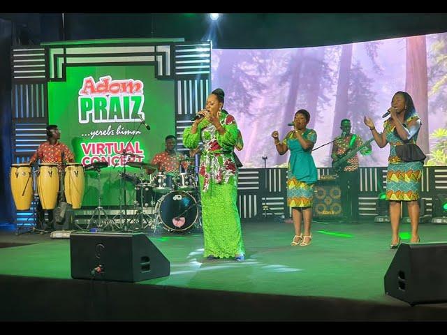 Rose Adjei's powerful performance at Adom Praiz 2020