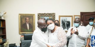 Nana Akufo-Addo and Rebecca