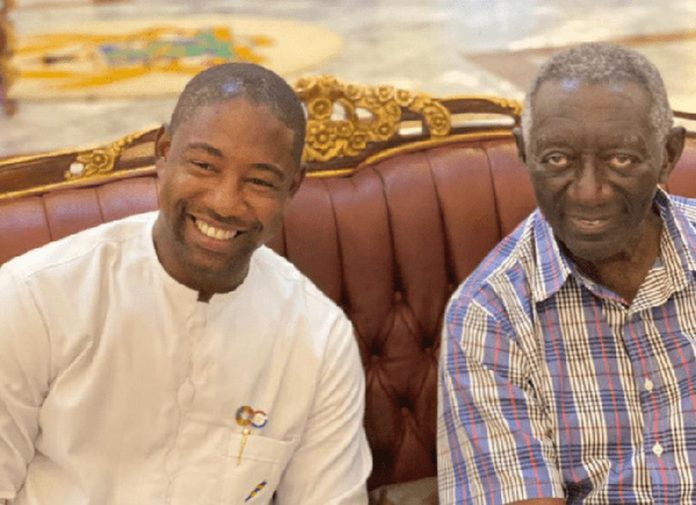 Dr Bernard Okoe-Boye and John Agyekum Kufuor