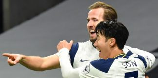 Harry Kane and Son Heung-min celebrate Image credit: Getty Images
