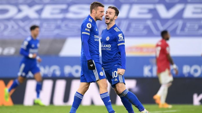 Vardy, Maddison - Leicester City-Manchester United - Premier League 2020/2021 - Getty Images Image credit: Getty Images
