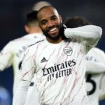 Alexandre Lacazette celebrates Image credit: Getty Images