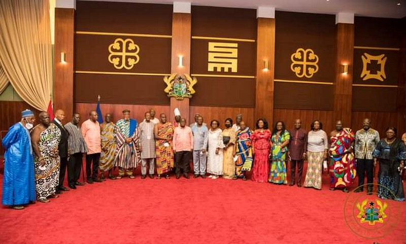 Akufo Addo meets council of state