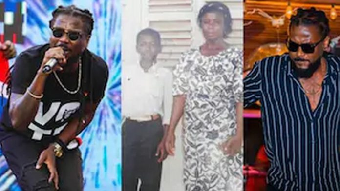 Samini and mother
