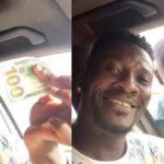 Asamoah Gyan and fan