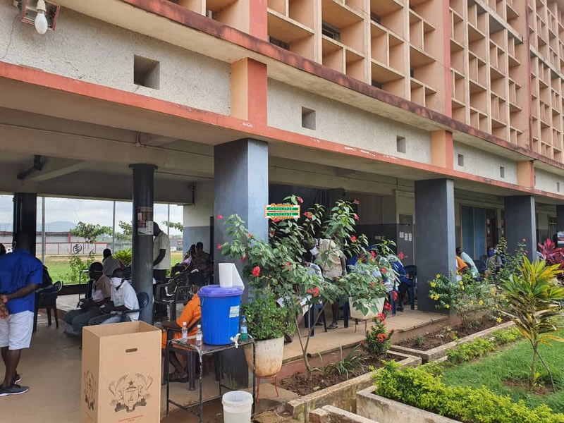 Nsawam prisons inmates vote