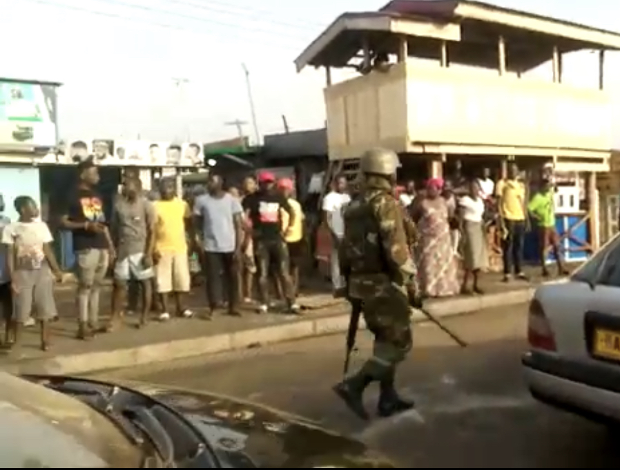 Election 2020: Tema East NDC PC detained by police; residents go wild