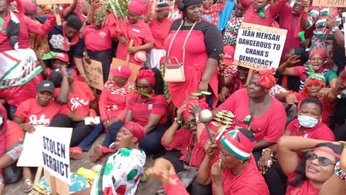 NDC women protest