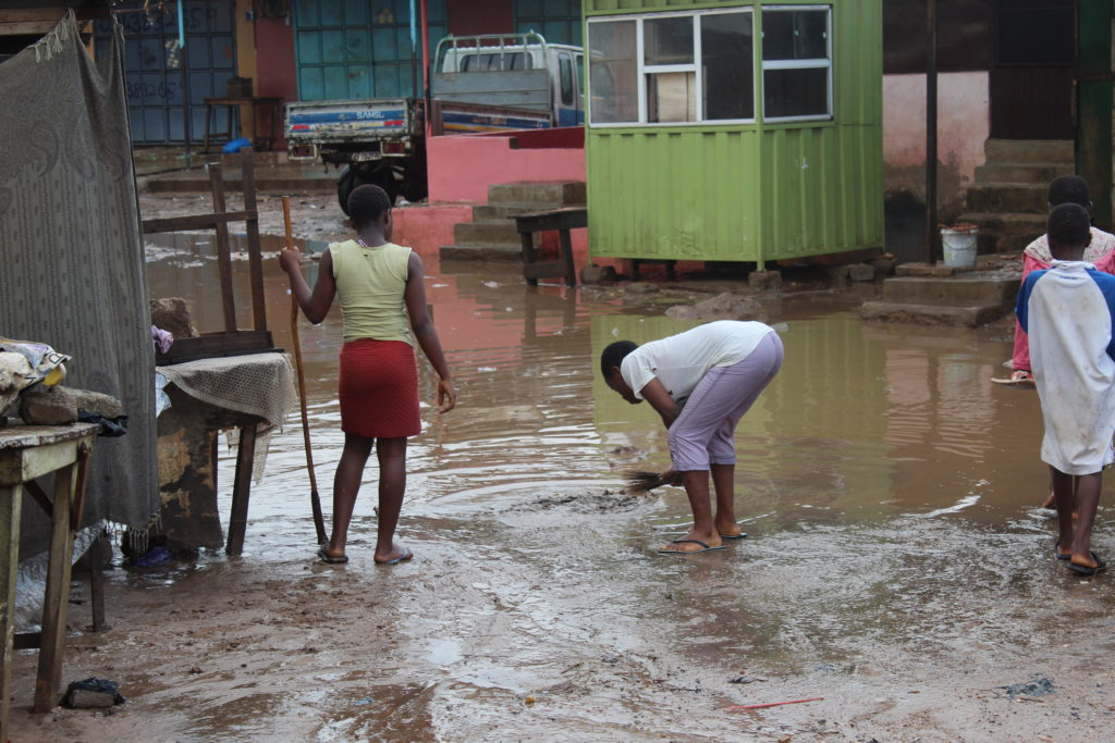 Dome Newtown flood | Photo by Patience Korkor Hesse / Adom News