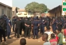Heavy security presence as NDC supporters hit Tamale streets   Adomonline.com