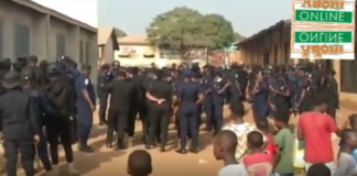 Heavy security presence as NDC supporters hit Tamale streets | Adomonline.com