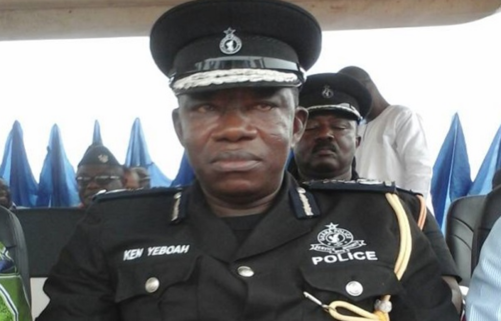 Director General of the Criminal Investigation Department (CID) of the Ghana Police Service, Commissioner of Police (COP) Mr Isaac Ken Yeboah | Adomonline.com