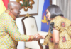 President Akufo-Addo and Chairperson of the Electoral Commission, Jean Mensa | Adomonline.com