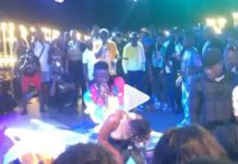 Stonebwoy and Efya at Sandbox Beach Club with Davido