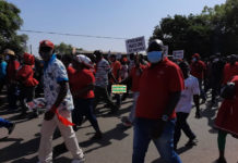 NDC protest