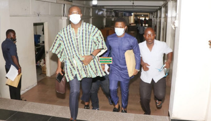 Sammy Gyamfi, others arrive at Supreme Court to file NDC petition