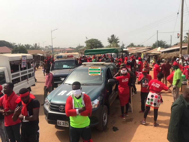 Election Petition: NDC clashes with Gbi Hohoe natives