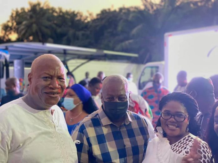 Mahama, NDC hold victory party to celebrate Bagbin as Speaker of Parliament