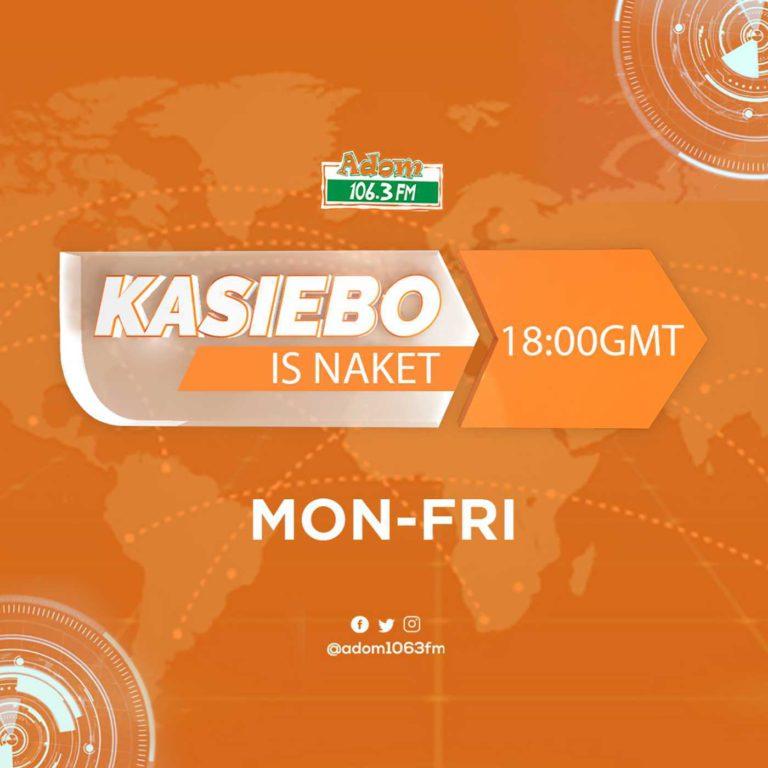 Kasiebo is Naket