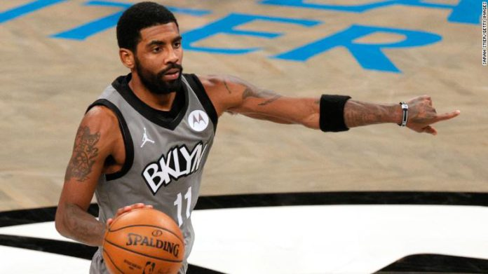 Brooklyn Nets star Kyrie Irving bought a house for George Floyd's family.