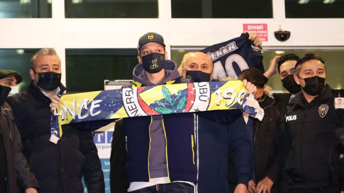 Ozil finally completes Fenerbahce switch Image credit: Eurosport