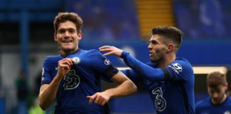 Marcos Alonso (L) and Christian Pulisic (R) Image credit: Getty Images