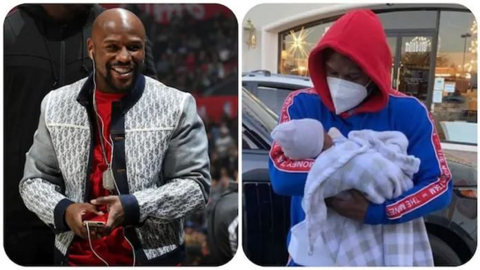 Floyd Mayweather spotted spending time with his grandson Kentrell Jr.