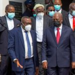 John Mahama at the Supreme court