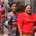 Rebecca Akufo Addo and daughters
