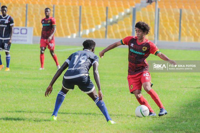 Fabio Gama in control