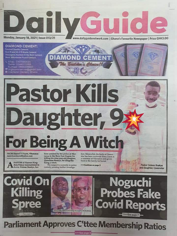 Newspaper headlines of Tuesday, January 19, 2021 57