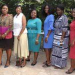 L-R: Leticia Ohene-Asiedu; Elizabeth Amponsah; Patricia Martey; Victoria Adobea Guerrieri ; Cynthia Asantewaa & Priscilla Nyarku