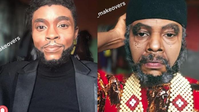 Makeup artiste transforms herself to Chadwick Boseman, Tiwa Savage, Davido, others