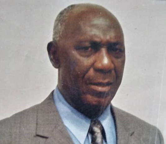 The late Mensah Henry Dickson