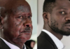 L-R: Yoweri Museveni, 76 & 38-year-old singer Bobi Wine | Adomonline.com