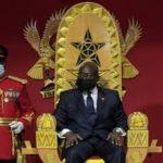 Akufo-Addo sworn in
