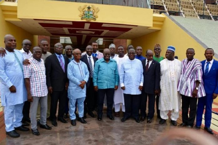 akufo addoa and some of his ministers