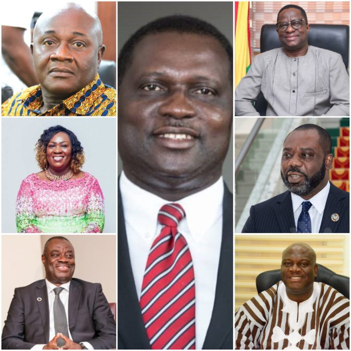 Akufo-Addo's 2nd tenure ministerial nominations: Biggest movements