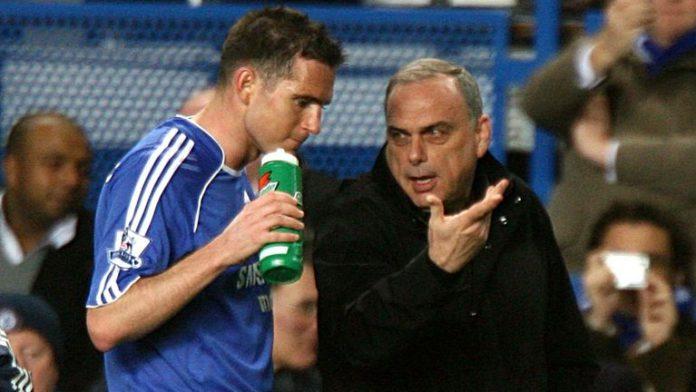 Frank Lampard and Avram Grant