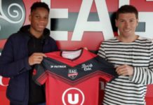 Isaac Drogba previously played for Guingamp, a team his father Didier also played for