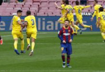 Cadiz, who beat Barcelona 2-1 earlier in the season, get a last-minute draw