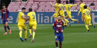 Cadiz, who beat Barcelona 2-1 earlier in the season, get a last-minute draw