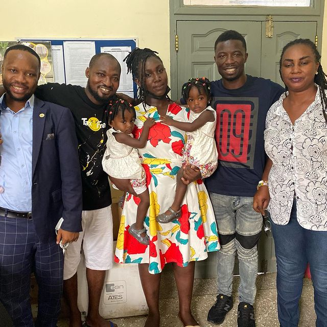 Funny Face's all loved up reunion with Baby Mama, kids [Photos] 16
