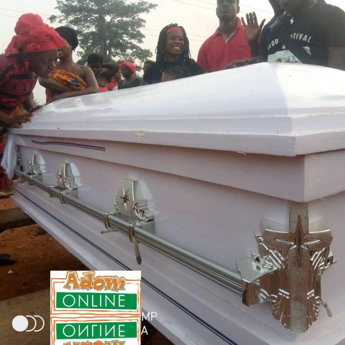 Police Constable Eugene Yelnona funeral